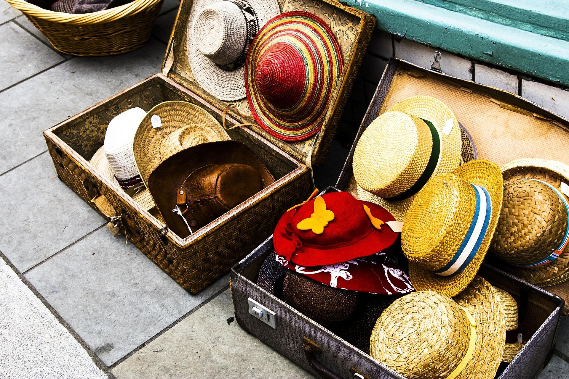 colocación del equipaje
