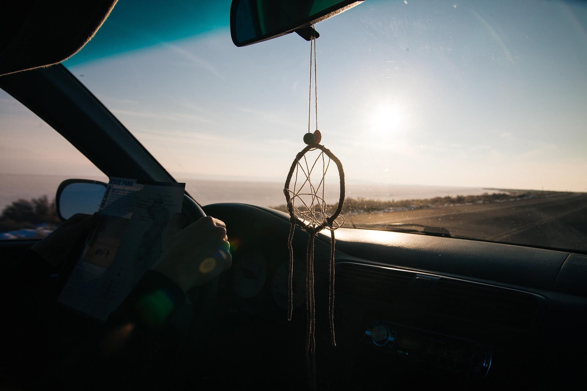 realizar un viaje en coche