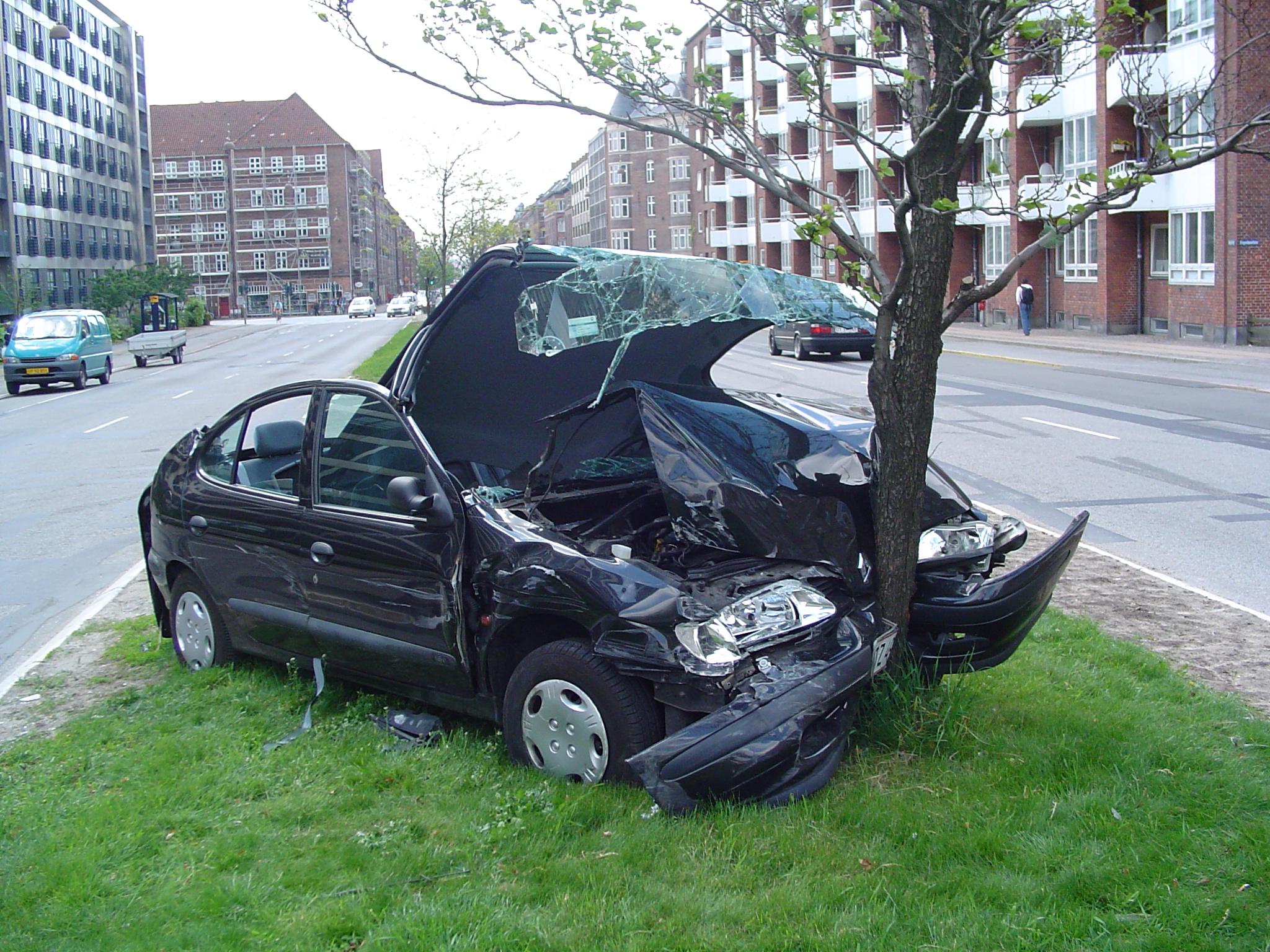 Accidente de auto applus