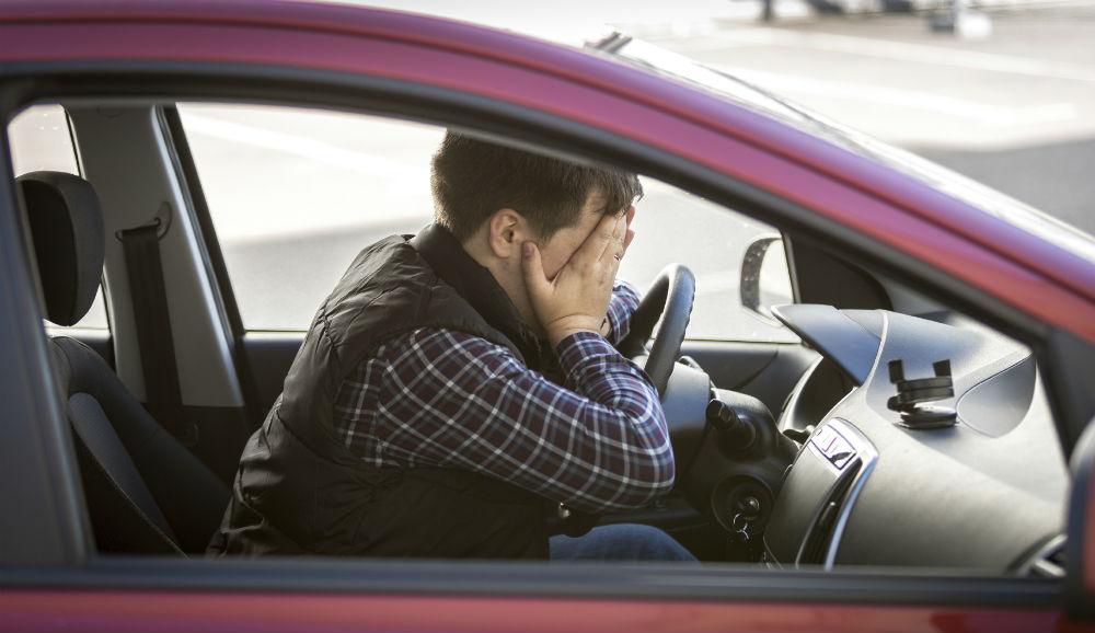 mala conducción