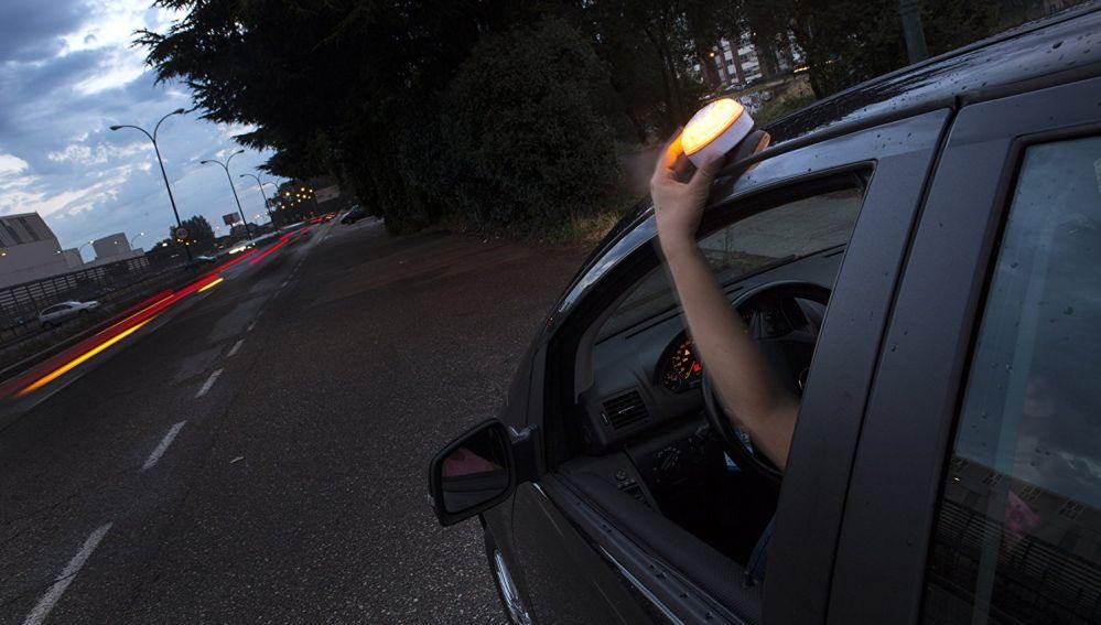 luz de aviso