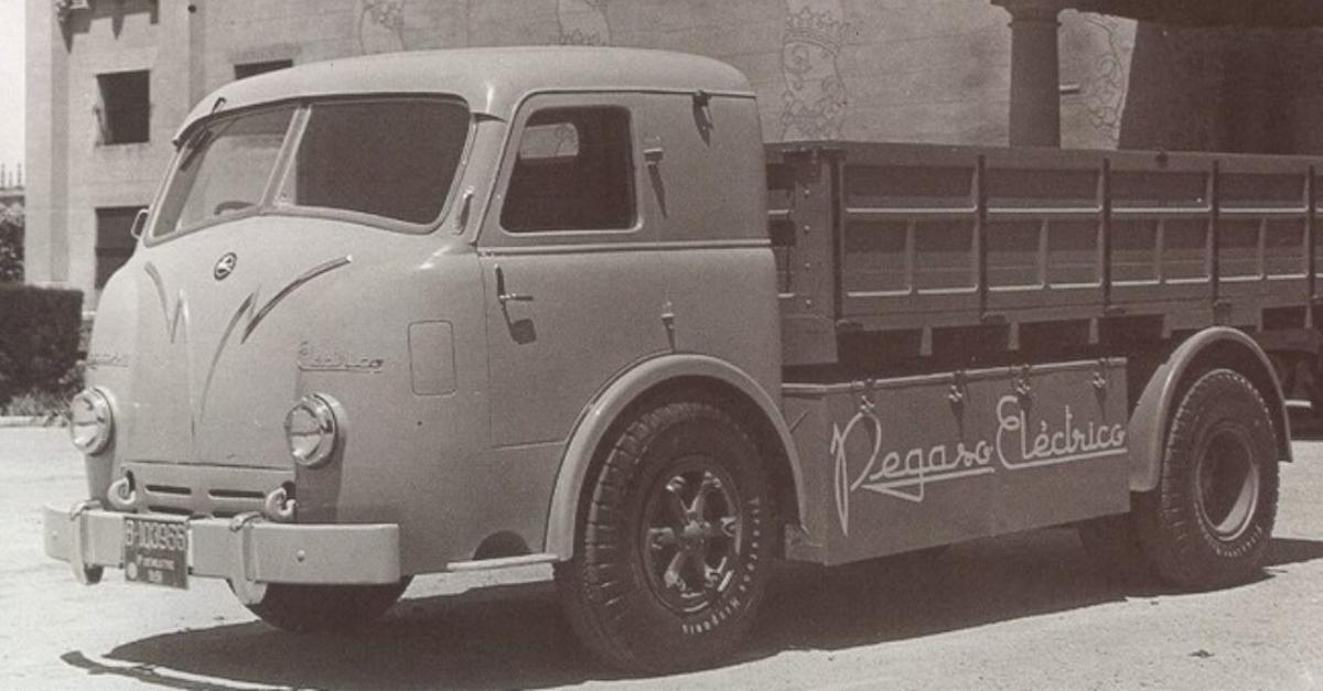 El camión eléctrico Pegaso II